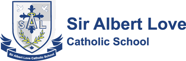 Sir Albert Love Catholic School logo
